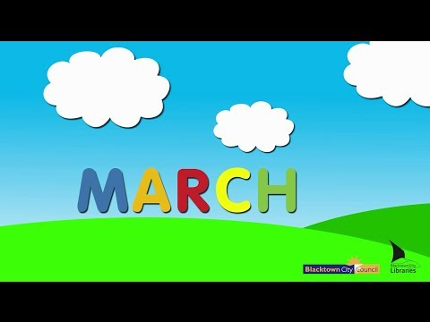 Blacktown City Libraries, Baby Rhyme Time online video – March