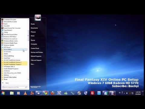 final fantasy xiv online pc telecharger