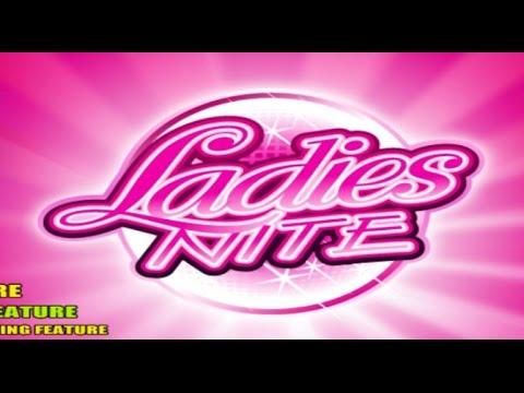 Ladies Nite video slot | Free spins big win | Microgaming
