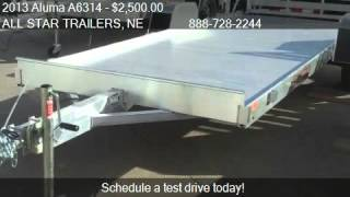 3. 2013 Aluma A6314  for sale in NORFOLK, NE 68701 at the ALL S