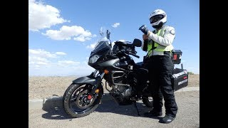 9. Best Econo Adventure Motorcycle: VStrom 650