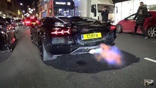 CRAZY Fi Lamborghini Aventador INSANE FLAMES! by 458MRP