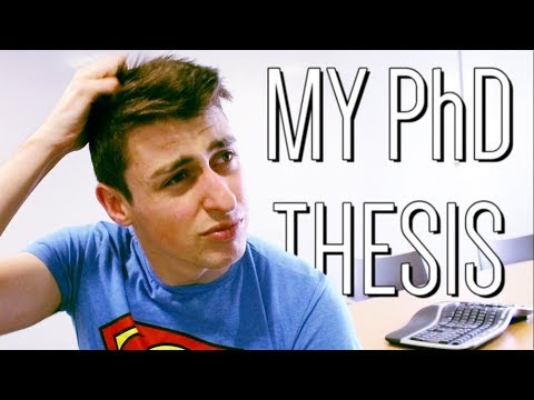 Writing my PhD thesis | Life as a PhD student #19