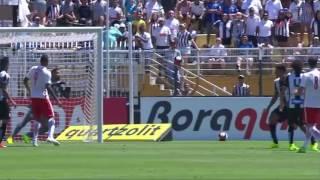 O Santos FC manteve seu ótimo desempenho no Estádio do Pacaembu. Dessa vez como visitante, o Peixe venceu o Red Bull Brasil por 3 a 2. O gol da vitória ...