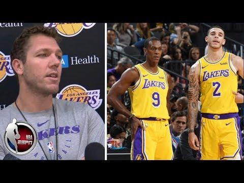 Video: Lakers still undecided on Lonzo Ball as opening-night starting PG - Luke Walton | NBA Interviews