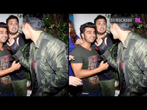 Arjun Kapoor and Varun Dhawan's bromance at Badl