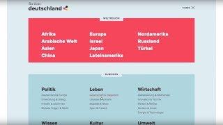 Die Deutschland-Plattform hat ein neues Gesicht bekommen: jung, frisch, mobil und interaktiv. Entdeckt die neuen Features von deutschland.de.