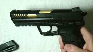 HK45 Stage #2 Milled, Ported, NighSights, Cerakoted, Miami Gunsmithing