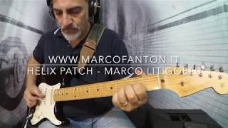 "Patch ""MarcoLitigoBlu"" available on www.marcofanton.itCustom IR included"