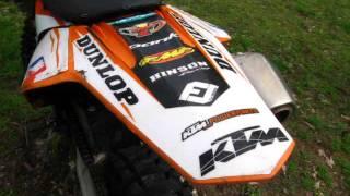 9. 2008 KTM XC-F 450