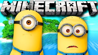 Minecraft Minions, Despicable Me Island Map Challenge w/Lachlan&Friends!