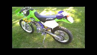 9. 1998 KLX300 Street Legal Dirt Bike - Dual Sport
