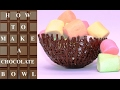 Download Lagu How To Make CHOCOLATE Basket BOWLS  Chocolate Hacks by CakesStepbyStep Mp3 Free