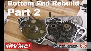 6. Motorcycle Bottom End Rebuild Part 2 (of 3) Crank & Bearings