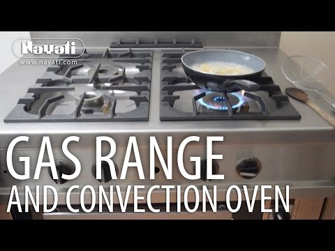 Nayati Gas Range and Convection Oven