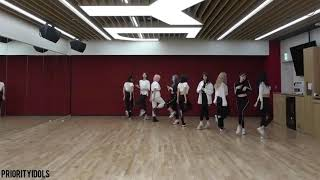 TWICE; FANCY - DANCE PRACTICE MIRROR