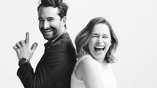 """http://bit.ly/VarietySubscribe """"Game of Thrones"""" actress Emilia Clarke and """"Transparent's"""" Jay Duplass talk Clarke's crazy """"Thrones"""" audition, the awkwardness ..."""