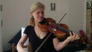 Bach Solo Sonata in g minor by Annette Homann
