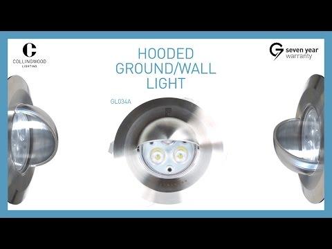 Cwood GL034AWW Wall Light LED 3x1W IP67 Product Video