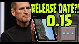 Minecraft Pocket Edition 0.15 Update Release Date Announced?! (MCPE 0.15.0 Update News)