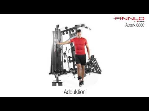 Kraftstation Autark 6800 Übungsvideo | FINNLO by HAMMER