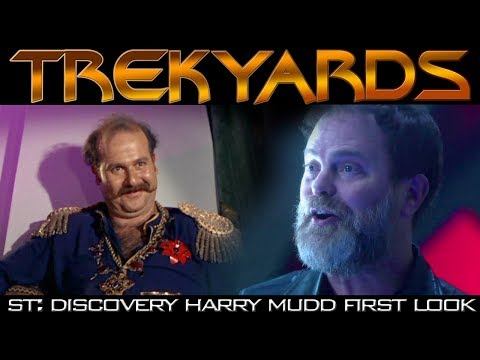 ST:Discovery Harry Mudd First Look - Trekyards Analysis