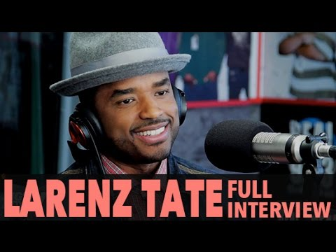"""Larenz Tate on New Show """"Game of Silence"""", Kobe's Retirement, And More! (Full Interview) 