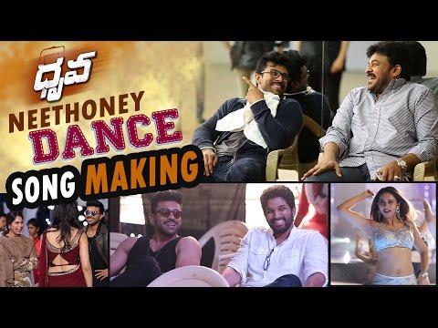 Video Neethone Dance Song Making || Dhruva Making Video || Ram Charan , Rakul Preet, Hiphop Tamizha download in MP3, 3GP, MP4, WEBM, AVI, FLV January 2017