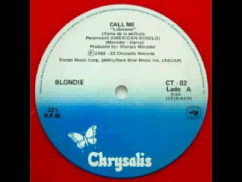 Blondie - Call Me (Extended Mix)
