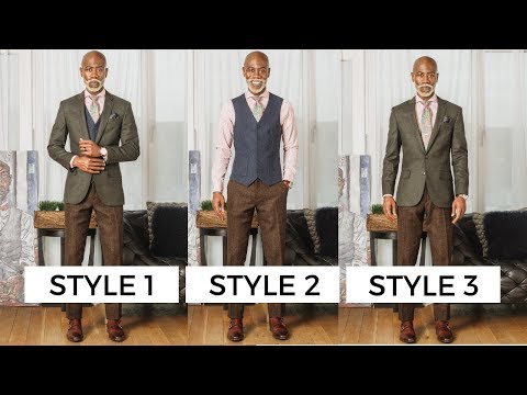 Beard styles - How To: 3 Easy Styles For Men With 1 Suit   The Welthē Guy