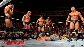Video The Nexus interrupt the main event and reap destruction: Raw, June 7, 2010 MP3, 3GP, MP4, WEBM, AVI, FLV Juni 2019