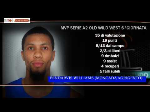 Serie A2 Old Wild West: MVP 6. giornata Pendarvis Williams