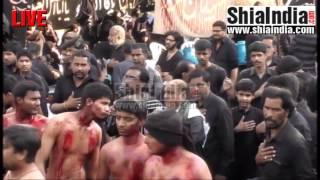 Hyderabad India  City pictures : 20th Safar Juloos-e-Arbaeen Hyderabad, India 1438-2016