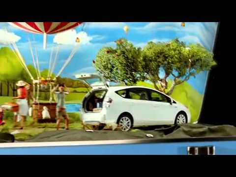 Toyota Commercial for Toyota Prius V (2011 - 2012) (Television Commercial)
