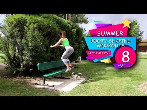Little Beasty: Summer BOOTY SHAPING Workouts -Ejercicios de Verano para ESCULPIR LOS GLUTEOS (видео)