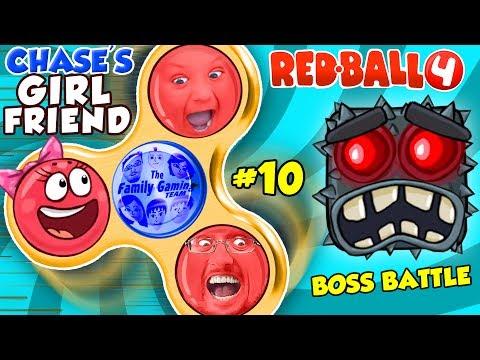 RED BALL 4 FIDGET SPINNER SAVES CHASE'S GIRLFRIEND! FGTEEV BOSS BATTLE #10 (Volume 5 Level 70-75) (видео)