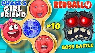 """Duddy & Chase are back and finishing up The Caves levels in Red Ball 4!  Luckily, Duddy has cool fidget spinner morph abilities to destroy the blocky boss and get Chase's Girl Friend back. ;)💥RED BALL 4: INTO THE CAVES GIRLFRIEND FALLS! FGTEEV #9 w/ Chase Dad Mom Shawn (Volume 5 Level 61-69)https://youtu.be/xUy9uWHlbGAOther Red Ball 4 Gameplays:►Part 1:  https://youtu.be/117O7xDpAOU►Part 2 with Poopy Head: https://youtu.be/NCRWmLW_oLg►Part 3: ZOMBIE BALL:  https://youtu.be/uUWoEQGJ9vg►Part 4: The Forest & the """"S"""" Word... OooOoOOOo: https://youtu.be/DCO0IqO8oUM►Part 5: Mom & Chase play RED BALL 4: THE FOREST BOSS FIGHT!: https://youtu.be/BrHC2DMMB5U►Part 6: Chase & Dad play RED BALL 4! BOX FACTORY ENTIRE LEVEL w/ BOSS!:https://youtu.be/I7TMoBkZTKM►Part 7: REDBALL 4 is BACK!  Chase & Dad go to SPACE 2 Battle for the Moon Levels 46-55 https://youtu.be/F8zccaUYAPc►Part 8: Battle for the Moon BOSS BATTLE!https://youtu.be/ZgywbTPBrWA==================================Beba Ba Leep Bop Beleeda Bop Pllllhhh!Subscribe: http://bit.ly/1KKE2f1📺Family Friendly Youtube Gaming Channel, FGTEEV:http://www.youtube.com/fgteev📺Skylander Boy and Girl Channel: http://www.youtube.com/theskylanderboyandgirl📺Our Family/Vlog channel, FUNNEL VISION:http://www.youtube.com/funnelvision📺Our Toy Channel: DOH MUCH FUN:http://www.youtube.com/dohmuchfun►Instagram: http://instagram.com/funnelvisionfam►Facebook: https://www.facebook.com/SkylanderKids►T-Shirts: http://skykids.spreadshirt.com/shop/designs►Twitter: http://twitter.com/funnelvisionfamABOUT FGTEEV:FGTeeV is a Family Friendly Gaming Channel for all ages to enjoy but primarily focused to the family audience.  Dad is known as FGTEEV Duddy & Mom, well, we call her whatever but sometimes it's Moomy.  They have 4 children, Chase, Mike, Lex & Shawn!  We play all sorts of games, never anything rated Mature. All gameplays have clean language and good family friendly fun! We play awesome games like Hello Neighbor, Bendy & the Ink Machine, Draw a Stickm"""