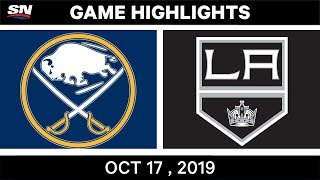 NHL Highlights | Sabres vs Kings – Oct 17 2019 by Sportsnet Canada