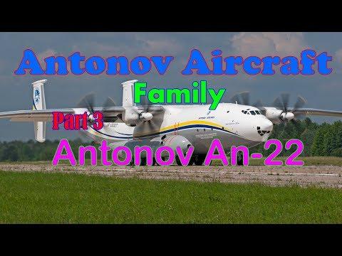 ●  Antonov aircraft family - takeoff...