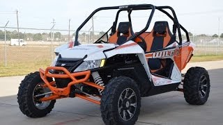 9. 2014 Arctic Cat Wildcat Limited Orange Metallic $17,699  Overview and Review!