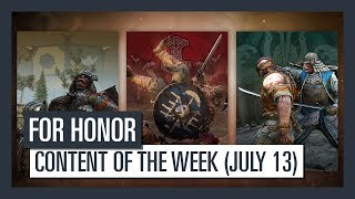 Check out this week's new content: 14 Executions - One per hero.                                          For Honor is now available on PlayStation 4, Xbox One, and PC.Buy the game : http://ubi.li/nks2c  For more info: http://ubi.li/4y839