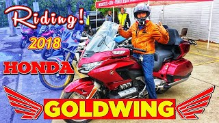 9. 2018 Honda Gold Wing Tour Automatic DCT First Ride Experience