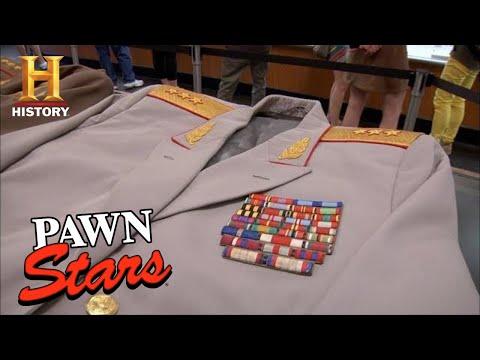 Pawn Stars: MILLION DOLLAR Soviet Union Cold War Uniforms (Season 8)   History