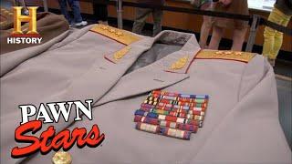 Pawn Stars: MILLION DOLLAR Soviet Union Cold War Uniforms (Season 8) | History