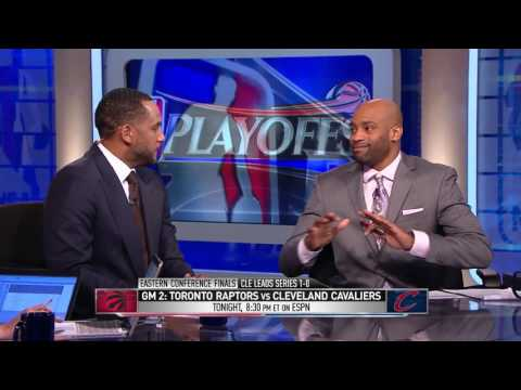 GameTime  Raptors vs Cavaliers   Game 2 Preview   May 19, 2016   2016 NBA Playoffs