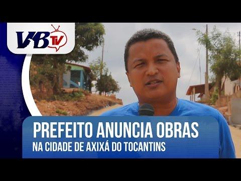 VBTv | Prefeito de Axixá do TO inaugura obras