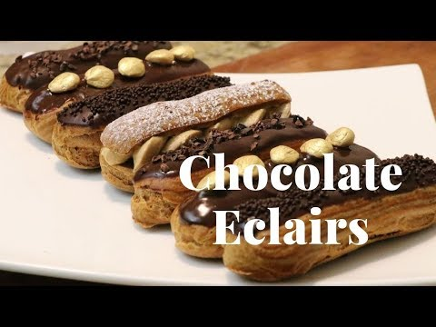 The Best Chocolate Eclair Recipe Dessert
