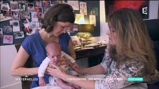 Ostéopathie, une solution aux pleurs de bébé