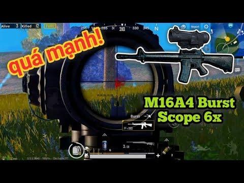 PUBG Mobile - Khai Thác Sức Mạnh Burst Mode Của M16A4 | Tốc Độ Ra Đạn Nhanh Hơn Auto - Thời lượng: 10:22.