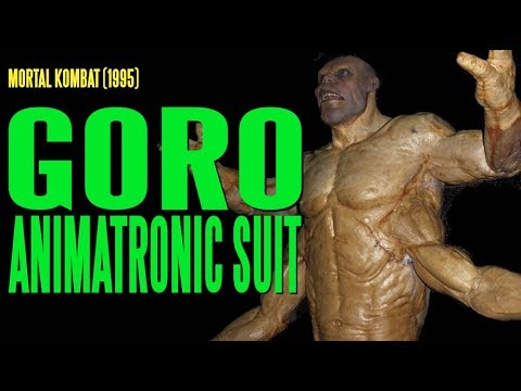 Animatronic - The mighty Goro from MORTAL KOMBAT in all his animatronic glory! State of the art in 1995 meant heavy electric motors to drive Goro's upper arms, controlled ...